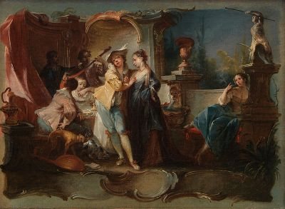 800px-Johann_Wolfgang_Baumgartner_-_The_Prodigal_Son_Living_with_Harlots_-_Google_Art_Project